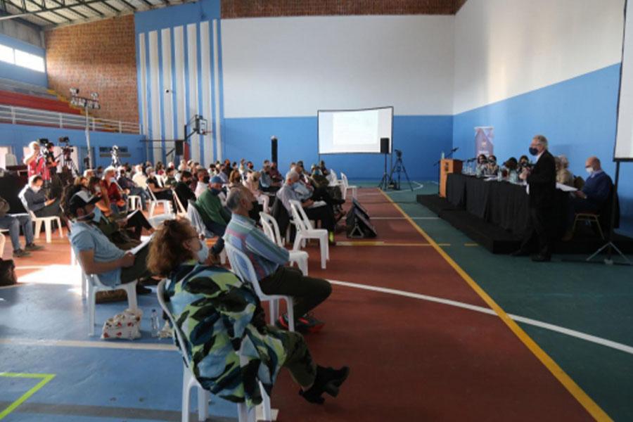 Audiencia Pública por el Plan Local de Ordenamiento territorial y desarrollo sostenible de la cuenca de la Laguna del Sauce